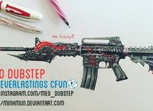 Trò chuyện với game thủ 16 tuổi khiến mọi người phát cuồng vì vẽ súng Đột Kích cực đẹp