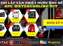 Cuộc thi lắp tản nhiệt nước đặc biệt dành cho game thủ tại Hà Nội