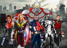 """Avengers kết hợp """"siêu nhân Nhật Bản"""" là anh hùng chất nhất hành tinh"""
