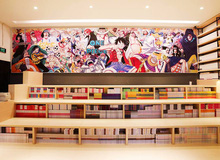 Khám phá thiên đường truyện tranh mới mở tại Tp. Hồ Chí Minh của NXB Kim Đồng