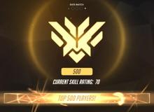 Overwatch: Blizzard bất ngờ cập nhật tính năng hiển thị Top 500 cho game thủ