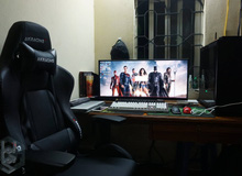 Anh chàng được vợ cho tiền mua ghế gaming và màn hình xịn khiến mọi người ghen tị