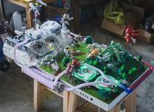 Ngắm bộ máy tính trận chiến Gundam đẹp tuyệt có một không hai trên đời