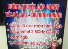 Đây là quán net có biển hiệu hack não nhất Việt Nam