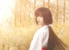 Ngất ngây với cosplay Kikyo tuyệt đẹp trong Manga InuYasha