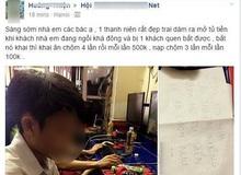 Thanh niên ăn trộm 4 lần tại quán net, bị bắt chép phạt ngay tại trận