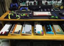 Nam game thủ Việt chịu chơi: một mình sở hữu 8 bàn phím custom, 8 con chuột chơi game loại xịn