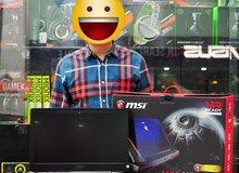 Sốc trước anh chàng người Việt mua 'quái vật' laptop chơi game trị giá tới 110 triệu đồng