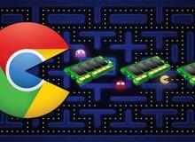 Chrome phiên bản mới không còn ngốn RAM, game thủ tha hồ chiến webgame