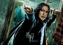 """Tác giả Harry Potter đã hé lộ bí mật lớn trong truyện cho """"thầy Snape"""""""