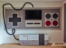 Lạ mắt với phòng chơi game mang phong cách Nintendo