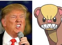 Xuất hiện loài Pokemon mới với tạo hình giống... tỷ phú Donald Trump
