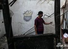 Bất chấp nguy hiểm, giới trẻ Syria đổ xô đi bắt Pokemon trong bão chiến tranh