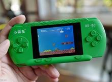 Chiếc máy chơi game chỉ 400k nhưng chạy được đủ loại game 4 nút: Mario, Contra... tại Việt Nam