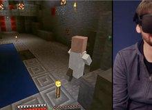 Minecraft chính thức hỗ trợ thực tế ảo với công cụ Oculus Rift