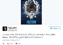 Choáng với trâu cày Overwatch, lên cấp 1000 chỉ trong 3 tháng