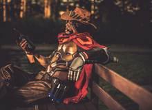 Ngắm bộ ảnh cosplay McCree trong Overwatch cực bụi bặm, menly