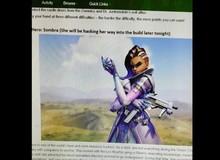 Đây chính là Sombra - Hero mới đang được cả cộng đồng Overwatch mong chờ xuất hiện?