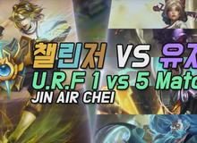 Liên Minh Huyền Thoại: Trố mắt với trận đấu siêu bá đạo - 1 Thách Đấu vs 5 Kim Cương vẫn Win