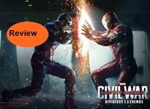 Đánh giá phim Captain America: Civil War - Tuyệt hết chỗ chê