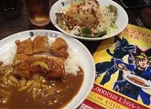 Đến ăn cơm Cà ri, được tặng Rồng Trắng Mắt Xanh tại Nhật Bản