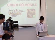 Chinh Đồ Mobile họp báo ra mắt, có sự tham gia của đài truyền hình