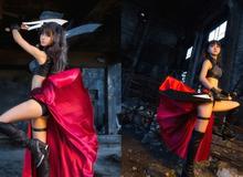 Cosplay thiếu nữ xinh đẹp trong Visual Novel Fate/stay Night