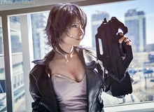 Lạ mắt với cosplay mỹ nữ Motoko Kusanagi trong Ghost in the Shell