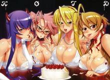 Top 10 anime harem hành động cực kỳ lôi cuốn đáng xem qua (P2)