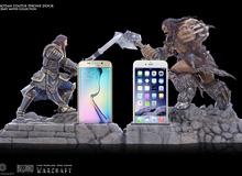 Làm đẹp cho điện thoại với loạt phụ kiện mới của phim Warcraft