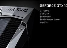Đây chính là cái giá game thủ Việt phải bỏ ra để sở hữu GTX 1080: 19 triệu Đồng!