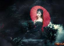 """Nữ Admin game Việt hóa trang thành """"Ma búp bê Nhật"""" trong ngày Halloween"""