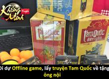 Kỳ lạ game thủ đi dự Offline game chỉ để lấy truyện Tam Quốc về tặng ông nội
