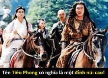 Hóa ra các nhân vật kiếm hiệp được Kim Dung đặt tên theo cách này