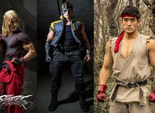 Phim Live-Action Street Fighter tung loạt hình ảnh mới cực ngầu