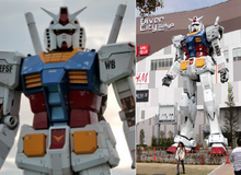 4 triệu người đã chụp ảnh selfie với Tượng Gundam khổng lồ cao 18 mét này