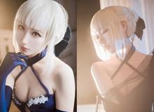 Cosplay nữ kiếm sĩ Saber tuyệt đẹp trong series Fate