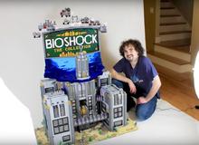 Thành phố ngầm BioShock được tái hiện quá đẹp qua 25 nghìn miếng LEGO, 300 giờ chăm chút