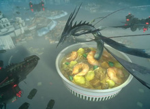 Khi trailer game khủng Final Fantasy XV được đem ra để... quảng cáo mỳ tôm