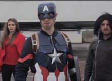 Xem phim Captain America: Civil War phiên bản... nhà nghèo
