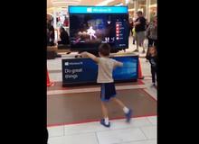 Bất ngờ trước game thủ nhí nhảy dẻo hơn cả vũ công