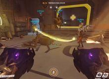 Đau bụng với trò nhảy dây giết thời gian của các game thủ Overwatch
