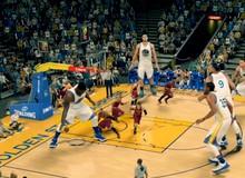 Trận đấu bóng rổ kinh điển giữa người khổng lồ và tí hon chỉ có trong game