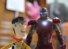 Khi thế giới các đồ chơi của Toy Story bị Iron Man tấn công