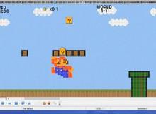 Bất ngờ trước game Mario phiên bản đặc biệt chạy trên phần mềm kế toán Excel