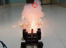 Cách chế tạo súng thần công 'chạy điện' đồ chơi cực đỉnh