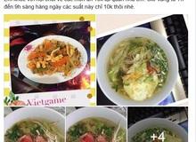 Chủ quán net Việt khoe thực đơn chỉ 10k 1 suất khiến nhiều người phải trầm trồ kinh ngạc