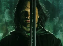 Tái tạo thanh thần kiếm Narsil của Aragorn trong The Lord of the Rings