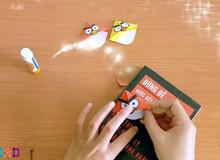 Hướng dẫn làm chim Angry Bird để đánh giấu trang cho game thủ thích đọc sách