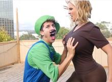 [Clip Việt hoá] Khi Mario phải chiến đấu với... hot girl để cứu công chúa